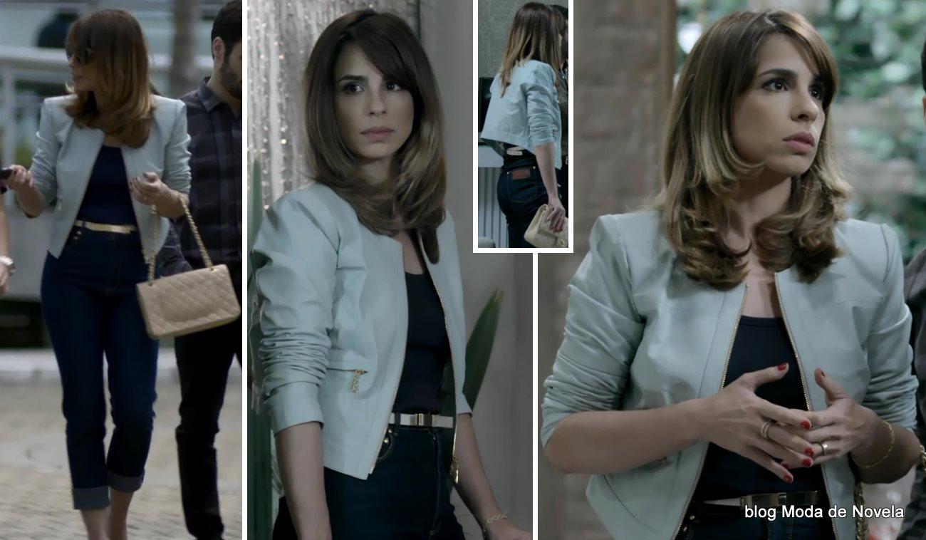 moda da novela Império - look da Daniela dia 26 de agosto