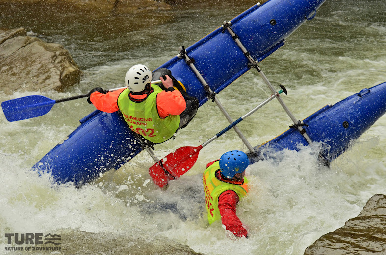 Кубок з водного туризму в Карпатах на ріках Свіча - Мізунка
