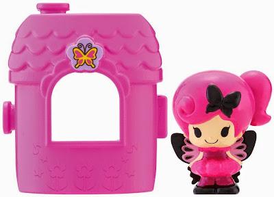 Koeda-chan KF-05 Ngôi nhà mini của búp bê Ageha tông màu hồng