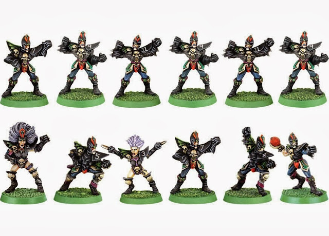 Elfos Oscuros 3a edición Blood Bowl Games Workshop