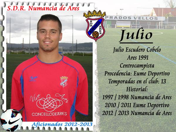 ADR Numancia de Ares. Julio.
