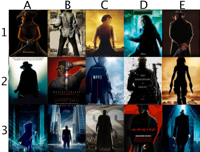 Sexy Back Movie Posters Quiz - By llgrmm