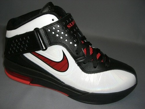 Nike Lebron Air Max Soldier 5 V White Sport Red Black