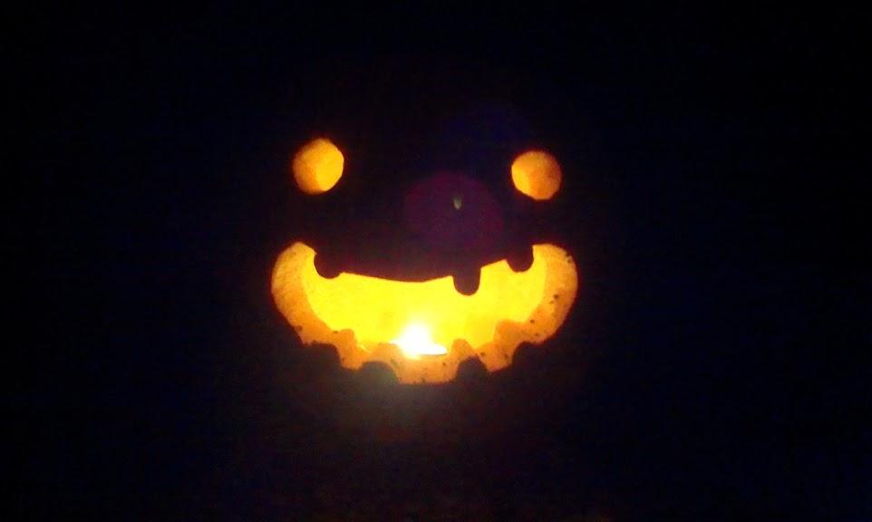My jack o' lantern