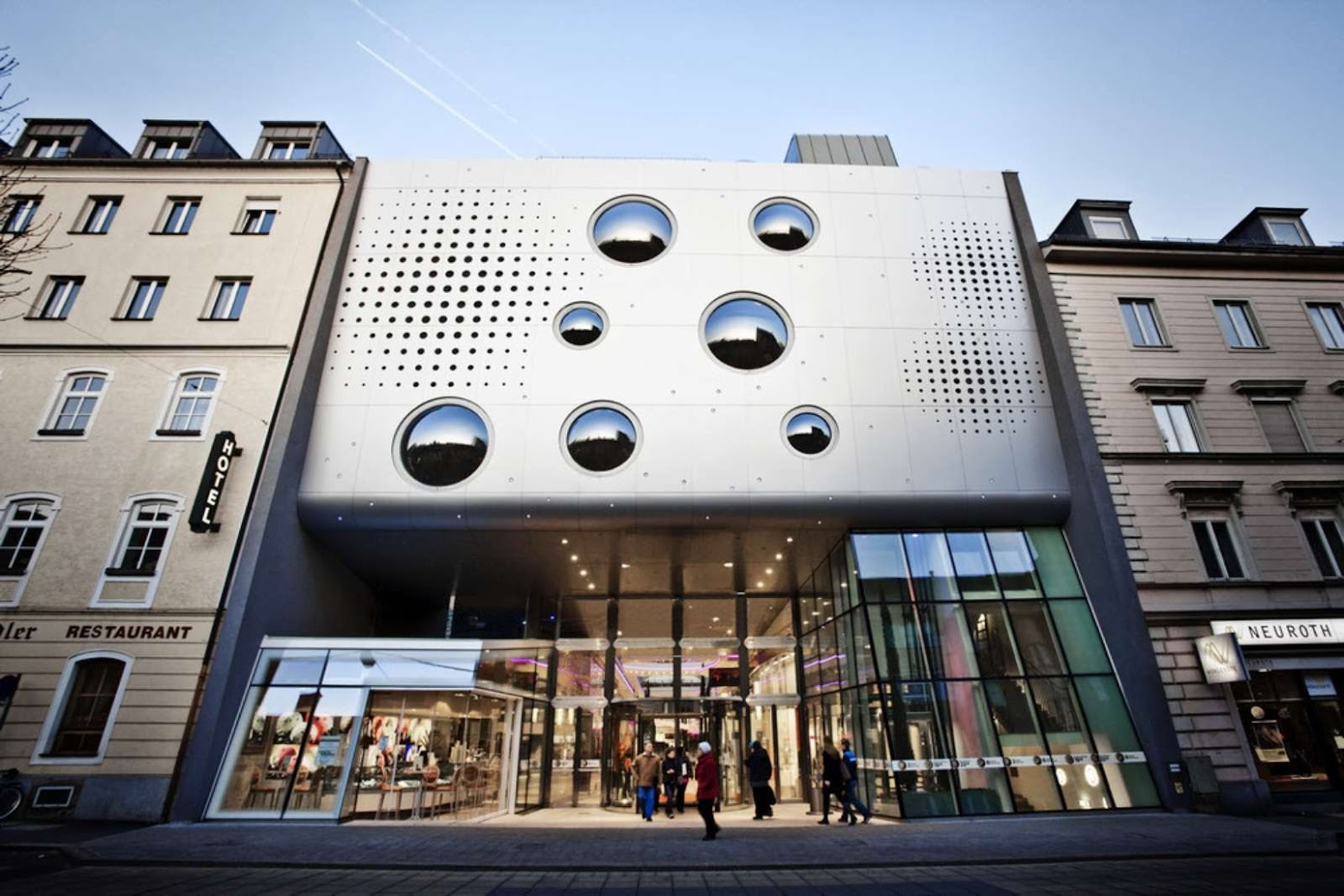 Linz, Austria: [LENTIA CITY BY LOVE ARCHITECTURE]