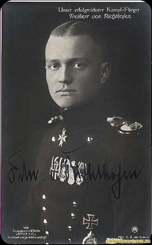 "Манфред фон Ріхтгофен - ""Червоний барон"""
