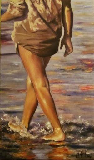 pintura al oleo de Marta Astrain