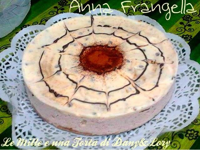 torta fredda con crema rocher
