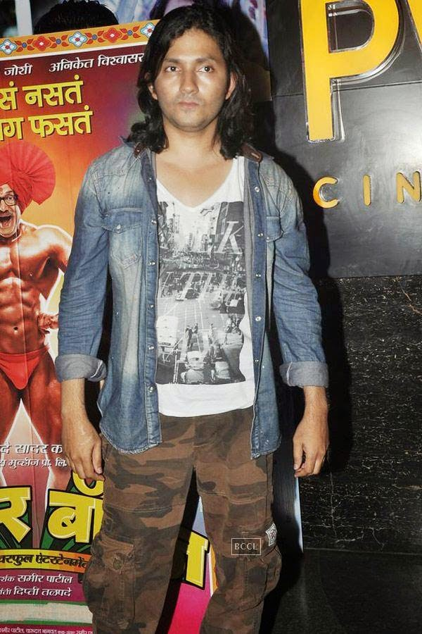 Shirish Kunder during the screening of Poshter Boyz, in Mumbai, on July 30, 2014. (Pic: Viral Bhayani)