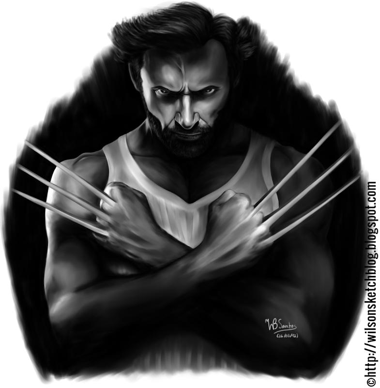 Hugh Jackman as Wolverine (Draft #02)