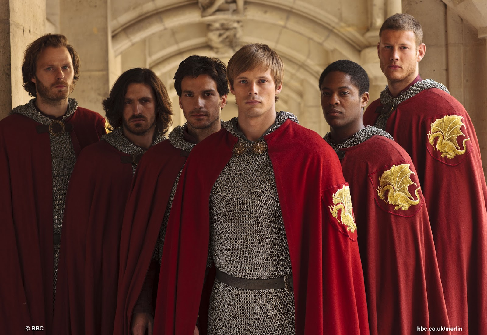 Rupert Young is Sir Leon, Eoin Macken is Sir Gwaine, Santiago Cabrera is Sir Lancelot, Bradley James is King Arthur, Adetomiwa Edun is Sir Elyan and Tom Hopper is Sir Percival