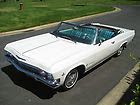 AWESOME - 1965 white Chevy Impala C O N V E R T I B L E