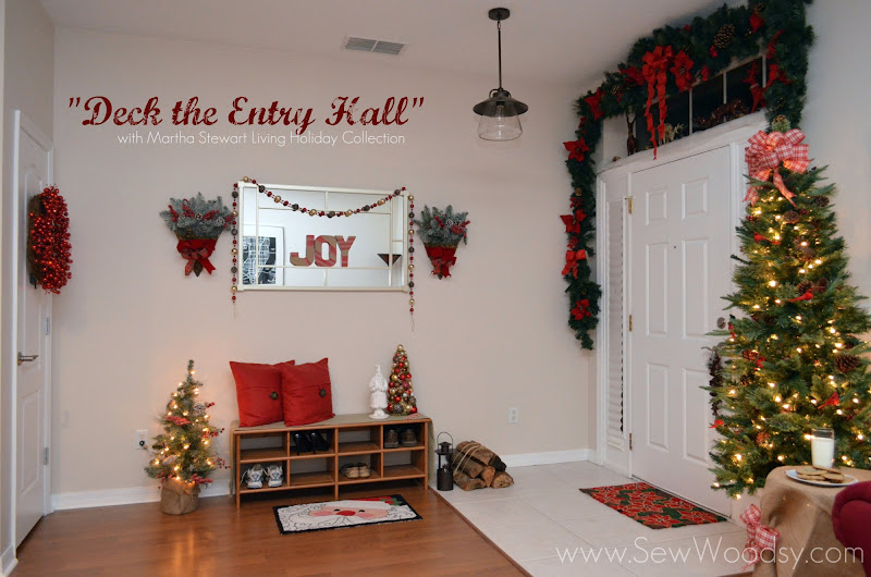 """Deck the Entry Hall"" with Martha Stewart Living Holiday Collection"