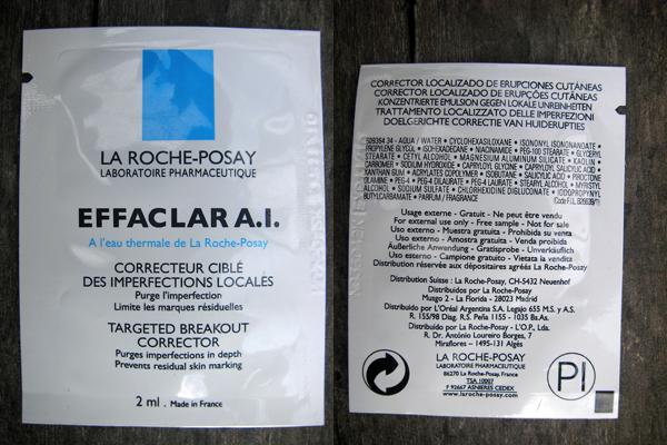LA ROCHE-POSAY EFFACLAR A.I. TARGET BREAKOUT CORRECTOR - Пробник