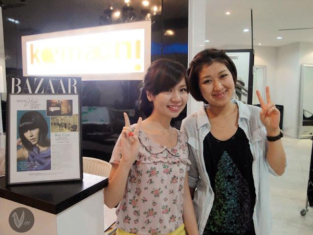 Vivian Sim @ Komachi Hair Cult