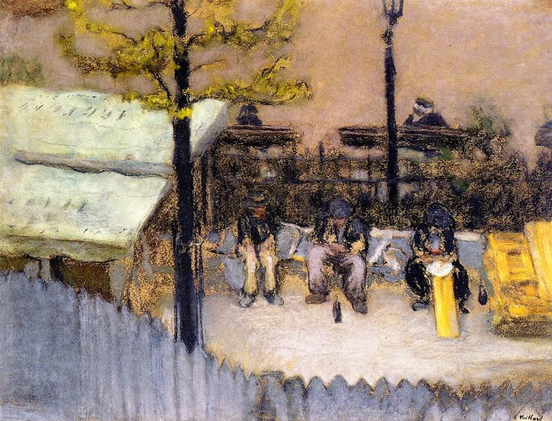 Édouard Vuillard - The Laborers Meal, Square Vintimille