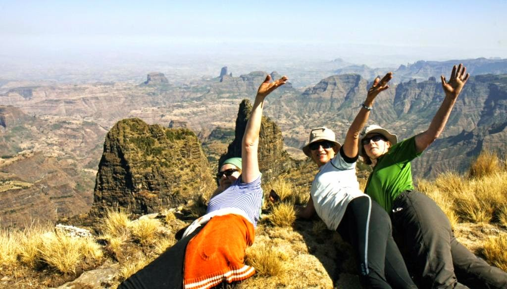 Kelione i Etiopija.Simieno kalnai