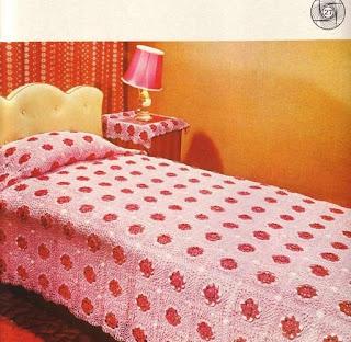 Irm s arteiras colcha de cama em croch - Tipos de colchas ...