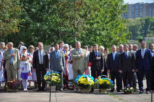 Делегация Чешской республики открыла мемориальную доску в Житомире. ФОТО
