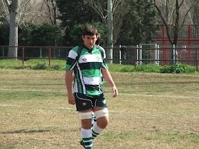 Alejandro Jorva, campeón de España con la selección sub 18 de rugby