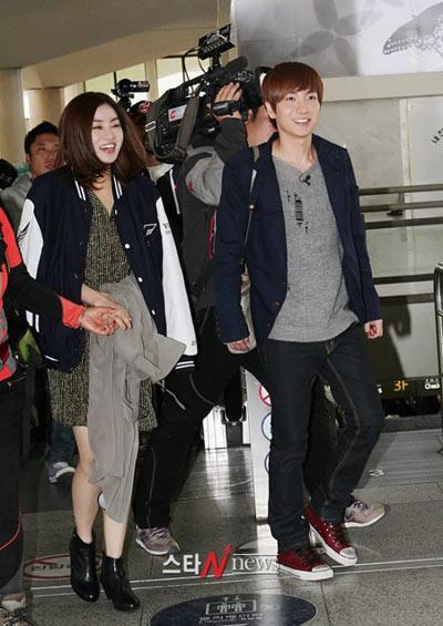 Leeteuk (SJ) กับ Kang Sora เริ่มถ่ายทำรายการ 'We Got Married' ?