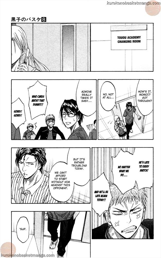 Kuroko no Basket Manga Chapter 63 - Image 11