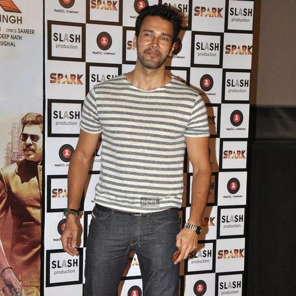 Rajneesh Duggal gets clicked during the trailer launch of Bollywood movie Spark, held at PVR in Mumbai, on July 21, 2014.(Pic: Viral Bhayani)
