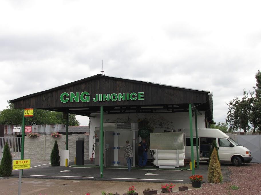 Stacja CNG Praga, Jinonice