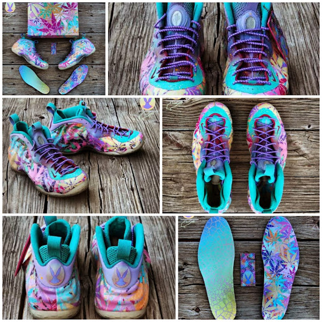 "Nike Air Foamposite One ""Kandy Kush"" Custom by GourmetKickz 13c84a909"