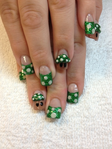Nail Art Las Vegas Super Mario Brother Nails Las Vegas