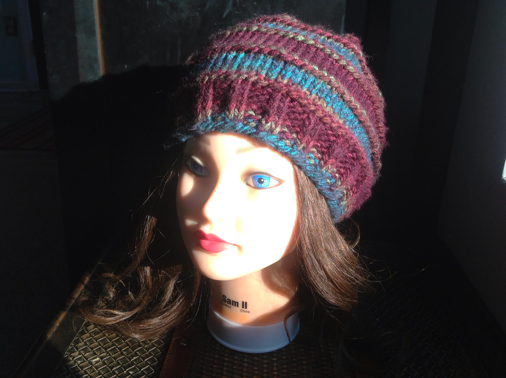 Penelope Rae: Mushroom Knit Cap-Free Knitting Pattern!