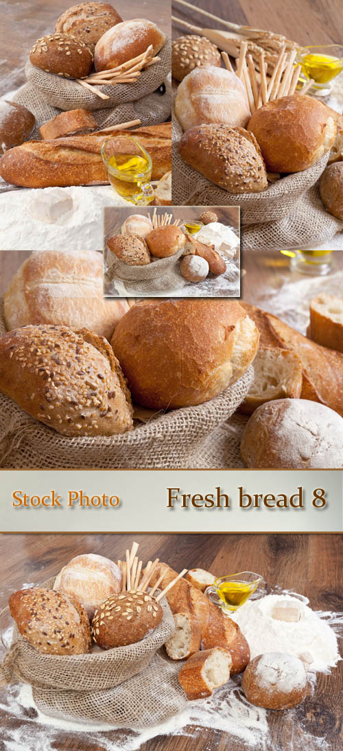 Stock Photo: Fresh bread 8