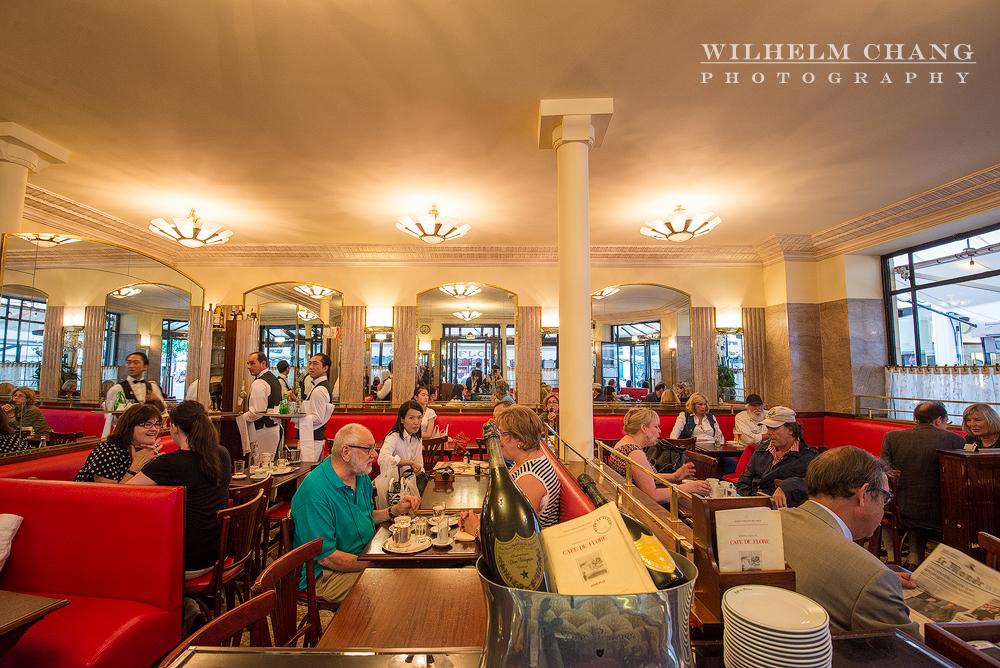 到巴黎攝影 花神咖啡館 Café de Flore