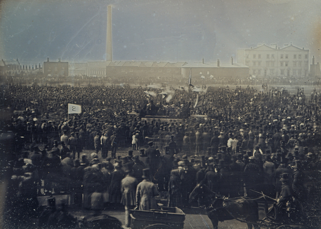 The Chartist Meeting on Kennington