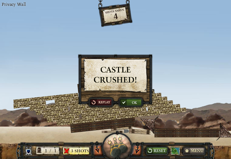 Crush the castle chrome