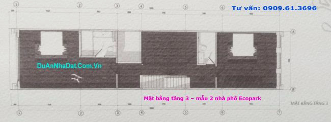 tầng 3 dãy A