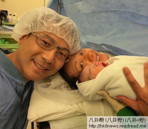 羅敏莊剖腹誕下重7.3磅女嬰,更會親自餵人奶。