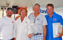J/22 winning team- Chris Doyle and gang