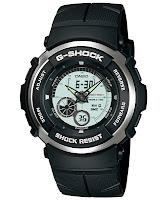 Casio G Shock : g-301br