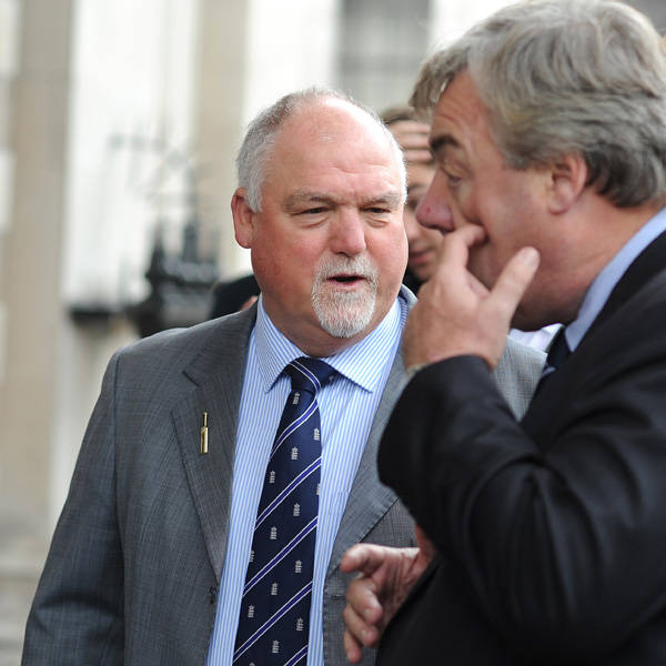 Mike Gatting attends the memorial Service for Tony Greig, in London, on June 24, 2013.