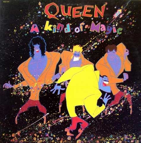 Portada del A kind of magic de Queen
