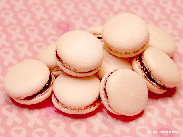 Chambord Macarons
