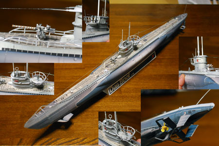 Das Boot U96 WWII German Uboat Papercraft