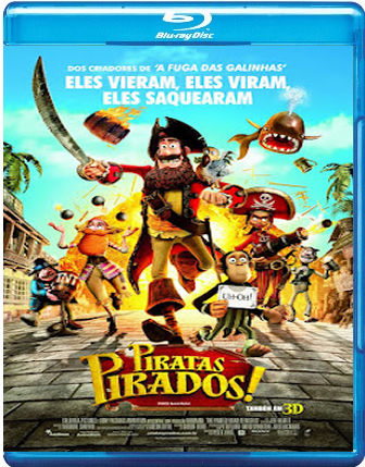 Filme Poster Piratas Pirados! BDRip XviD Dual Audio & RMVB Dublado