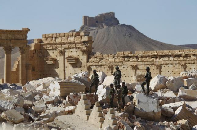 Near East: New materials needed to rebuild monuments in Syria's Palmyra