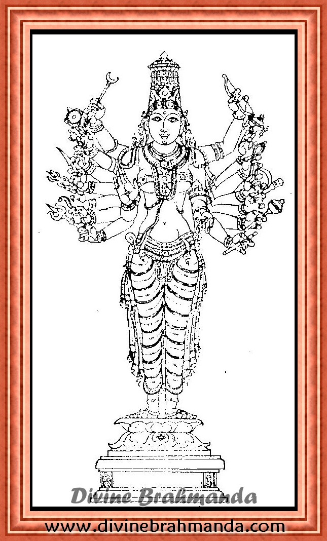 Soundarya Lahari Sloka, Yantra & Goddess To Get Your Desires Fulfilled - 93
