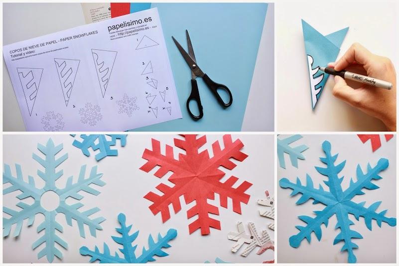 12 Ideas Con Copos De Nieve Para Tus Manualidades Manualidades