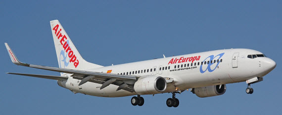 Nuevas rutas a México D.F, Quito y Bogotá con Air Europa en 2016