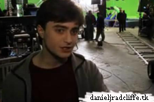 Behind the scenes of the 7 Potter's scene
