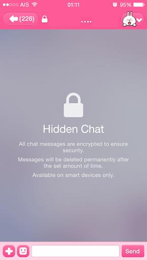 hidden chat app quizlet